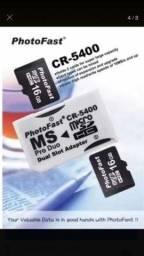 Adaptador PSP cartão de memória