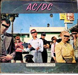 LP (Vinil) AC DC Dirty Deeds Done Dirty Cheeap