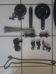 Conjunto de peças para bike shimano