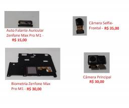 Peças Asus ZenFone Max Pro M1 ZB602KL, camera, autofalante, carcaça, slot de chip