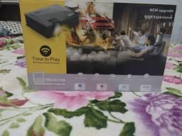 Vendo projector led wi-fi semi novo