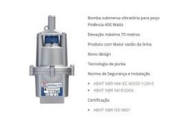 Bomba submersa Anauger 900 para poço Potência 450W