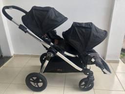 Título do anúncio: Carrinho de bebê - gêmeos - Baby jogger City Select Anniversary Edition