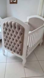 Jogo de quarto para Bebê, berço e cama