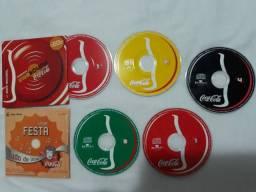 Mini CDs Coca-Cola