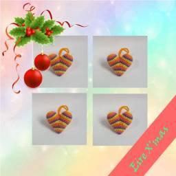 Ler descrição-Enfeite de Natal Divertido/Fofinho em crochê/amigurumi para arvore/guirlanda