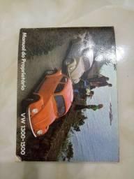 Manual do proprietario do Fusca 1972