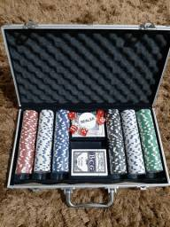 Maleta de Poker Nova Nunca usada