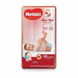 Fraldas Huggies vermelha M