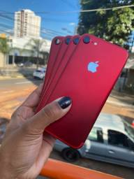 _IPHONE 7 RED DE 128 NOVO @@@@