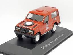 Miniatura Gurgel carajás corpo de bombeiros