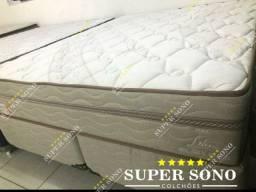 Conj Box Lotus Pelmex Queen Size 158x198 Mola Bonnel Prolastic