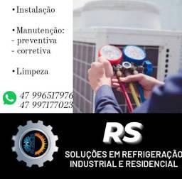 Refrigeração industrial e comercial