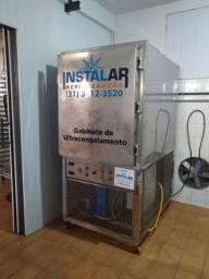 Ultra Congelador para alimentos 50kg/ciclo trifásico 220V seminovo