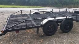 Carreta Rodoviária para Automóvel Homologada para 1.650 kilos