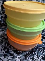 Kit de 3 tupperware pequenas