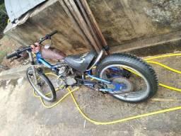 Troca.se bicicleta Chopper motorizada