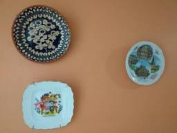 Pratos decorativo (3 unidades)