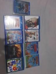 Título do anúncio: DVD Blu Ray