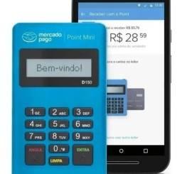 Título do anúncio: Maquininha de Cartões Point Mini Crédito Débito