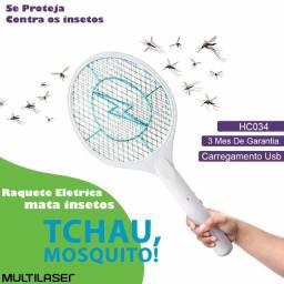 Título do anúncio: Raquete Elétrica Mata Inseto Mosquito Mosca Multilaser Hc034