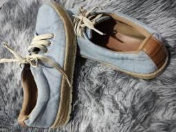 Sapato Jeans Sonho dos Pés