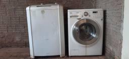 Máquina de lavar e lavadora