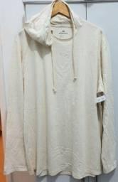 Blusa Marfinno de malha com capuz - Tam GG - R$80