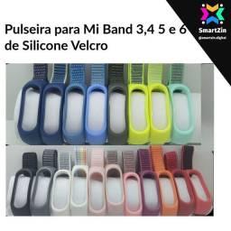 Título do anúncio: Promoção Pulseira para Mi Band 3/4/5 e 6