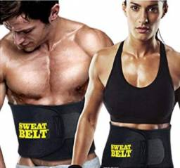 Título do anúncio: Cinta Modeladora Sweat Belt Fitness Crossfit yoga Treino Academia Ginástica(a101)