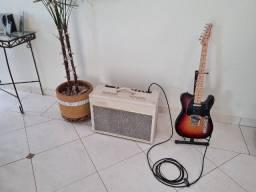 Amplificador valvulado Vox AC15C1 Cream