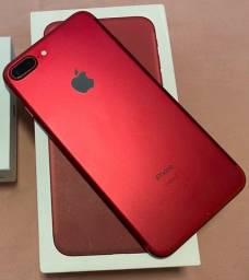 Título do anúncio: iPhone 7 Plus Red 128GB