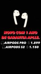 AirPods lacrados com 1 ano de garantia Apple