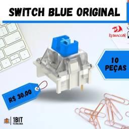 Título do anúncio: Switch Azul/blue - Teclado mecânico / 10 peças