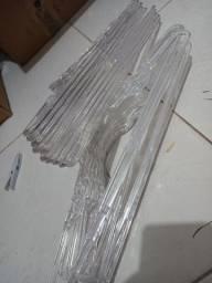 Cabides transparentes