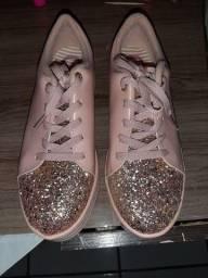 Sapatos infantil e bolsa a venda tudo semi novos