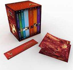 Título do anúncio: Livros de Harry Potter + edição premium+ poster exclusivo e capa comum