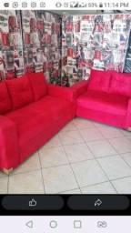 Conjuntos lux bem acolchoados / sofás novos / frete grátis