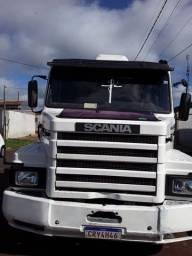 Scania 112HW 360 ano 90 carreta randon84 revisados
