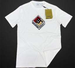 Camiseta Premium Burberry Importada Cubo