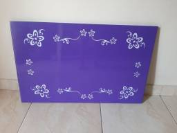 Quadro Painel / mural magnético 80x50