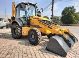 Título do anúncio: Retroescavadeira New Holand B95b 4x4 Retro Escavadeira