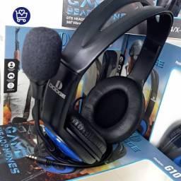 Fone para Jogos c/ Microfone (entrega grátis)