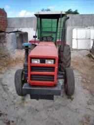 Tratot agrale T 4300  arado, roçadeira, carroça. Só vendo tudo junto