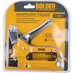 Grampeador Pinador 3 em 1 CV150256 Bolder