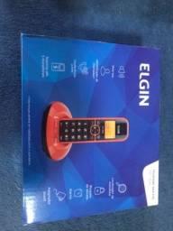 Título do anúncio: Telefone sem fio laranja