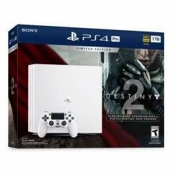 PS4 Pro + Controle + 2 jogos