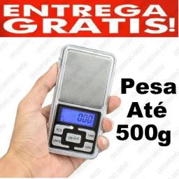 Título do anúncio: Balança de precisão pesa 1g á 500g