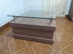 Título do anúncio: Mesa de centro c/ vidro
