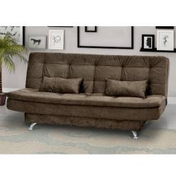 Sofá cama 3 estágios - 12X S/Juros